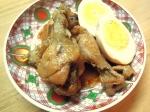 手羽元と卵のすっぱ煮