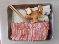 長ネギと厚揚げの豚肉巻き串焼き