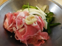 豚肉の野菜たっぷり生姜焼き