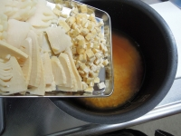 たけのこご飯♪炊飯器で簡単