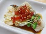 鱈のトマトぽん酢