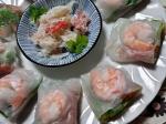 簡単タイ料理☆生春巻き