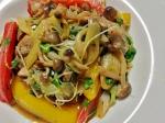 カラフル温野菜とグリルチキン