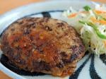 和風玉ねぎソースでご飯がすすむハンバーグ