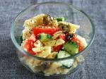 豆腐を使ったグリークサラダ【ギリシャ風サラダ】