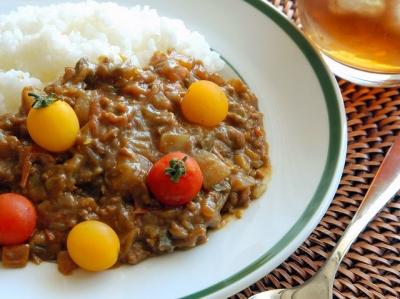 キーマ風夏野菜タップリカレー
