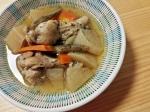 圧力鍋で☆鶏と野菜のタイ風スープ
