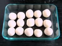 豆腐で作るやわらか白玉団子