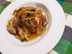 蒸し鶏の和風野菜のせ