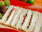 運動会に、秋の行楽に、サンドイッチ弁当♪