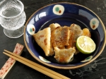 簡単おつまみ☆鱈のバターすだち醤油ソテー