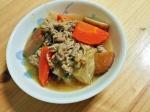 豚と野菜の味噌チゲスープ