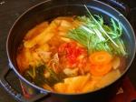 ピリ辛でコク旨★キムチ鍋