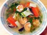 プリプリ海老のスープ