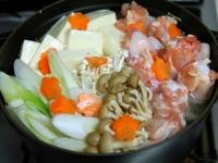 味噌ベースの寄せ鍋