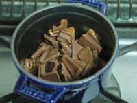 バレンタインに♪簡単チョコレートフォンデュ