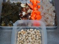 節分の豆を使って・簡単五目豆