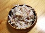 紫玉ねぎのツナマヨ和え