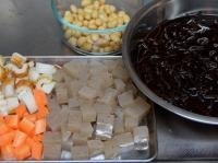 大豆入りひじきの煮物
