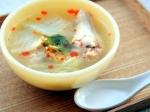 手羽元と白菜のピリ辛スープ