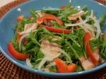 鰯と水菜のサラダ