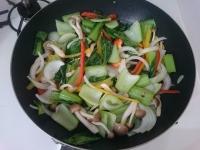チンゲン菜の中華あんかけ