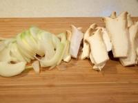 エリンギと豚肉の生姜焼き
