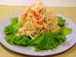 大根とハムの彩りサラダ