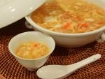 温まる、酸辣湯(サンラータン)風スープ