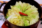 白菜と豚バラ肉のミルフィーユ鍋