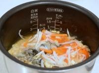 牡蠣と大根の炊き込みご飯