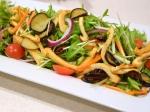 鮮やか水菜のサラダ