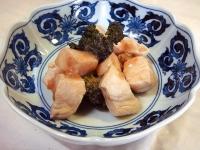 鶏肉とブロッコリーの梅炒め