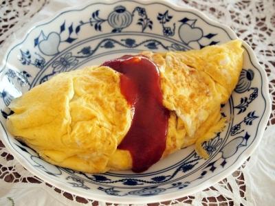 フワフワ卵のごちそうオムレツ