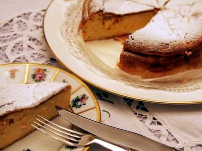 しっとりでおいしい♪スチームチーズケーキ