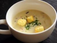 キノコのクリームスープ