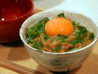 めかぶと納豆の血液サラサラ丼