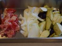 茄子と牛肉の中華炒め
